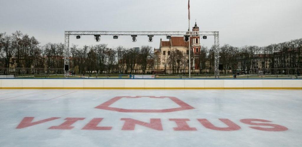 Lukiškių aikštėje atidaroma čiuožykla, o fontanas virs įspūdinga instaliacija