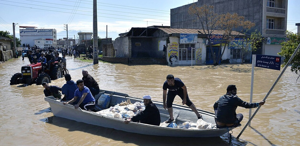 Per potvynius Irane žuvo mažiausiai 18 žmonių