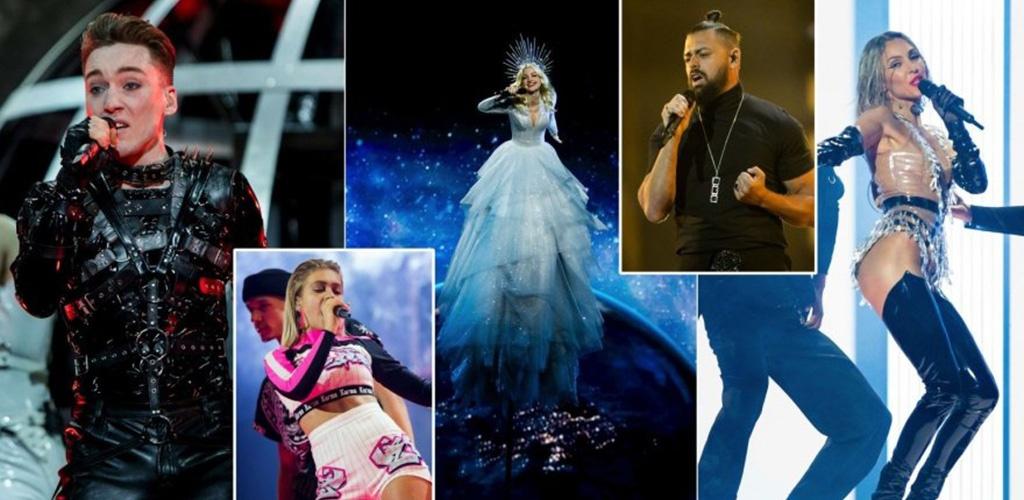 """Į """"Eurovizijos"""" finalą pateko 10 pirmojo pusfinalio dalyvių"""