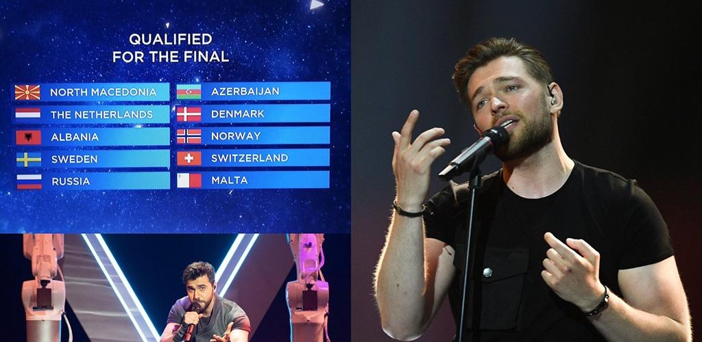 """Lietuvos atstovas J. Veklenko nepateko į """"Eurovizijos"""" finalą"""
