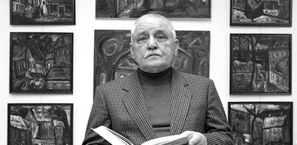 Mirė dailininkas, rašytojas L. Gutauskas
