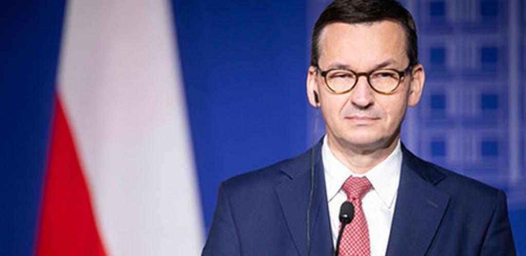 M. Morawieckis: Baltarusijoje yra 10 tūkst. migrantų, jie gali užplūsti Lenkiją, Lietuvą