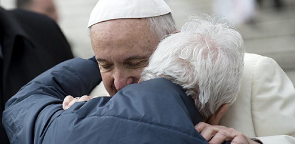 Popiežius: senatvė – ne liga, bet privilegija