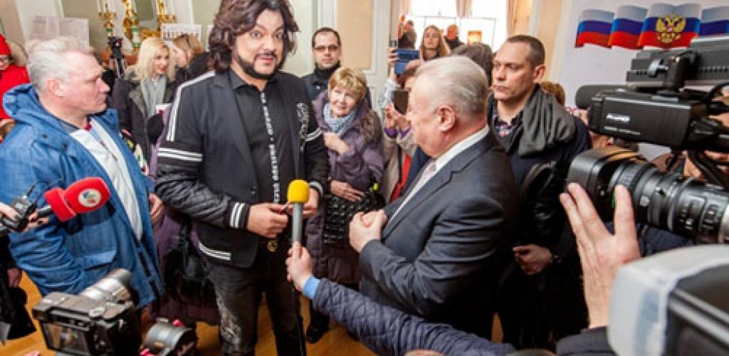 Rusijos atlikėjui F. Kirkorovui penkeriems metams uždrausta atvykti į Lietuvą