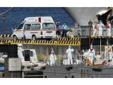 Japonijoje karantinuotame kruiziniame laive užsikrėtusiųjų koronavirusu padaugėjo iki 61