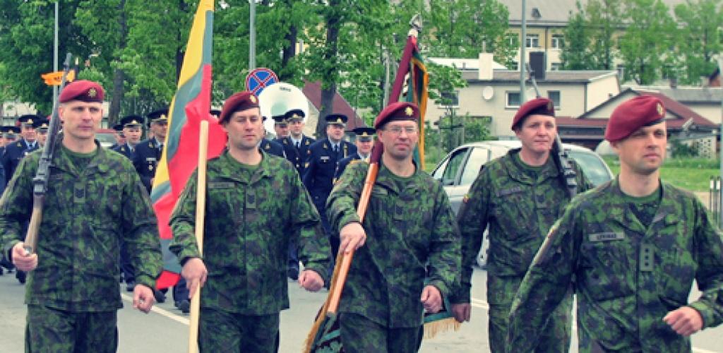 Krašto apsaugos savanorių pajėgos mini įkūrimo 30-metį